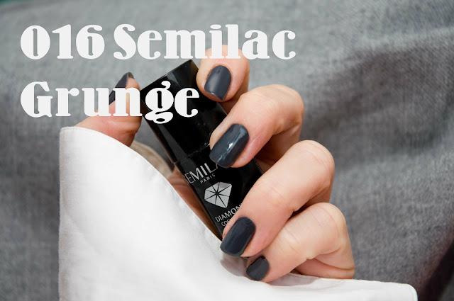Semilac lakier hybrydowy 016 Grunge