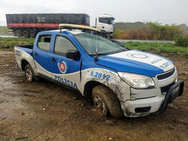 Acidente ocorreu na BR-242, em trecho da cidade de Ibotirama (Foto: Site Gazeta 5)