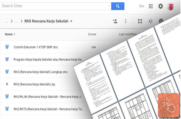 Contoh Rks Rencana Kerja Sekolah Lengkap Download File