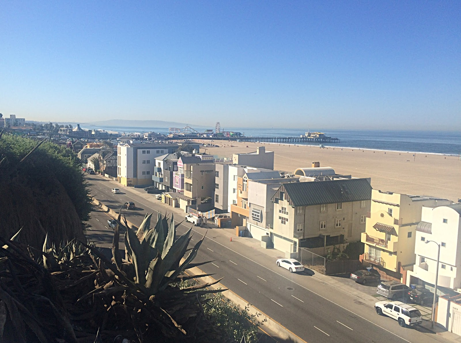Los Angeles - Santa Monica Beach View