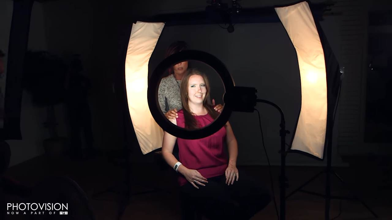 Simply Headshots With a Ring Light