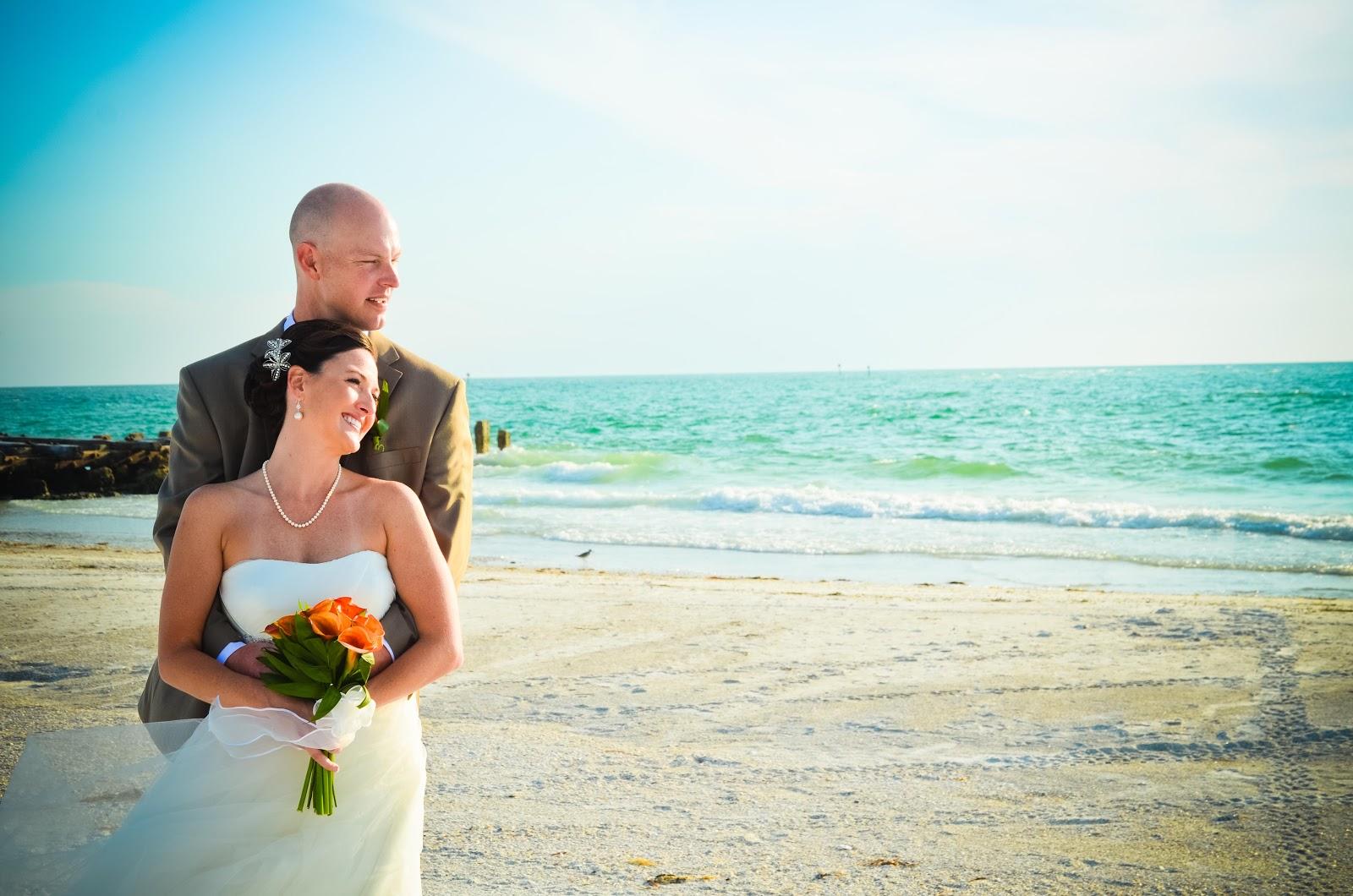 Beach Wedding Portraits In Bradenton