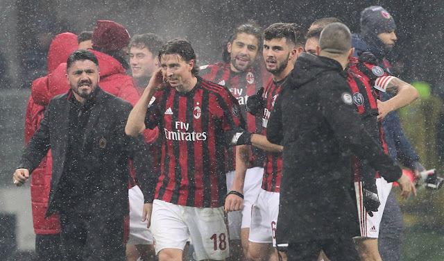 Ac Milan Menjamu Lazio Berakhir Imbang Di San Siro