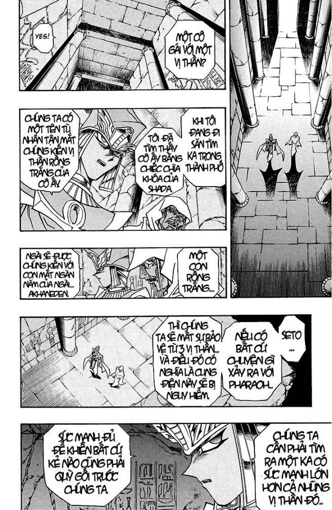 YUGI-OH! chap 309 - bóng đêm dậy sóng trang 8