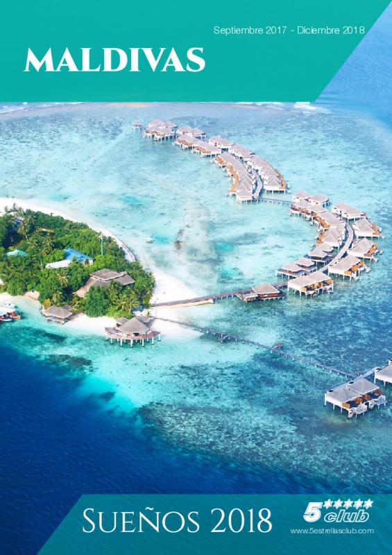 Catálogo 5 Estrellas Club Circuitos Maldivas 2018