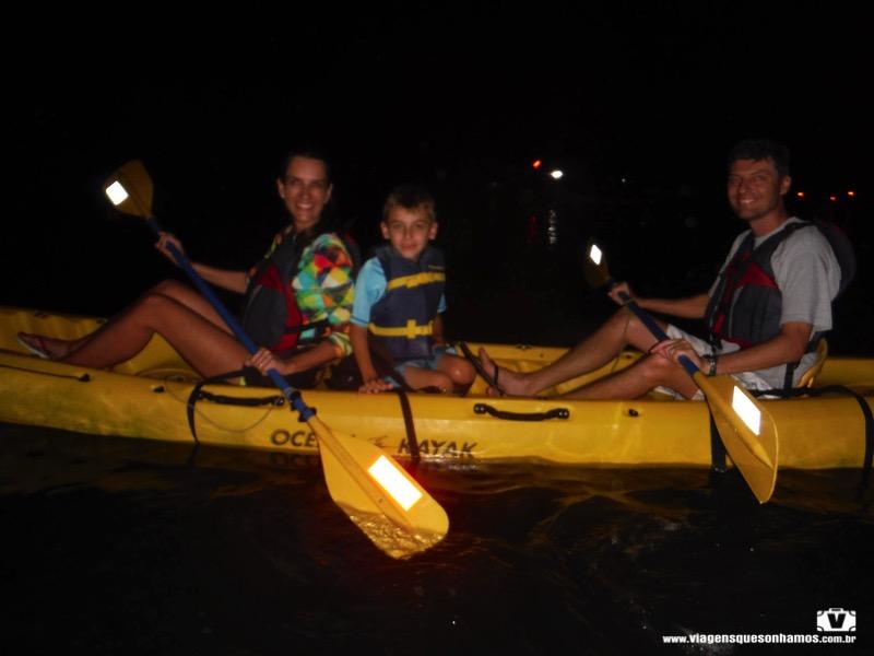 bioluminescência em Porto Rico