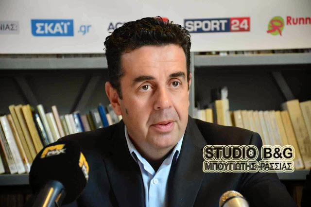 Συνέντευξη τύπου για τον 5ο Μαραθώνιο Ναυπλίου στην Αθήνα με τιμώμενο πρόσωπο τη Μαριάνα Βαρδινογιάννη