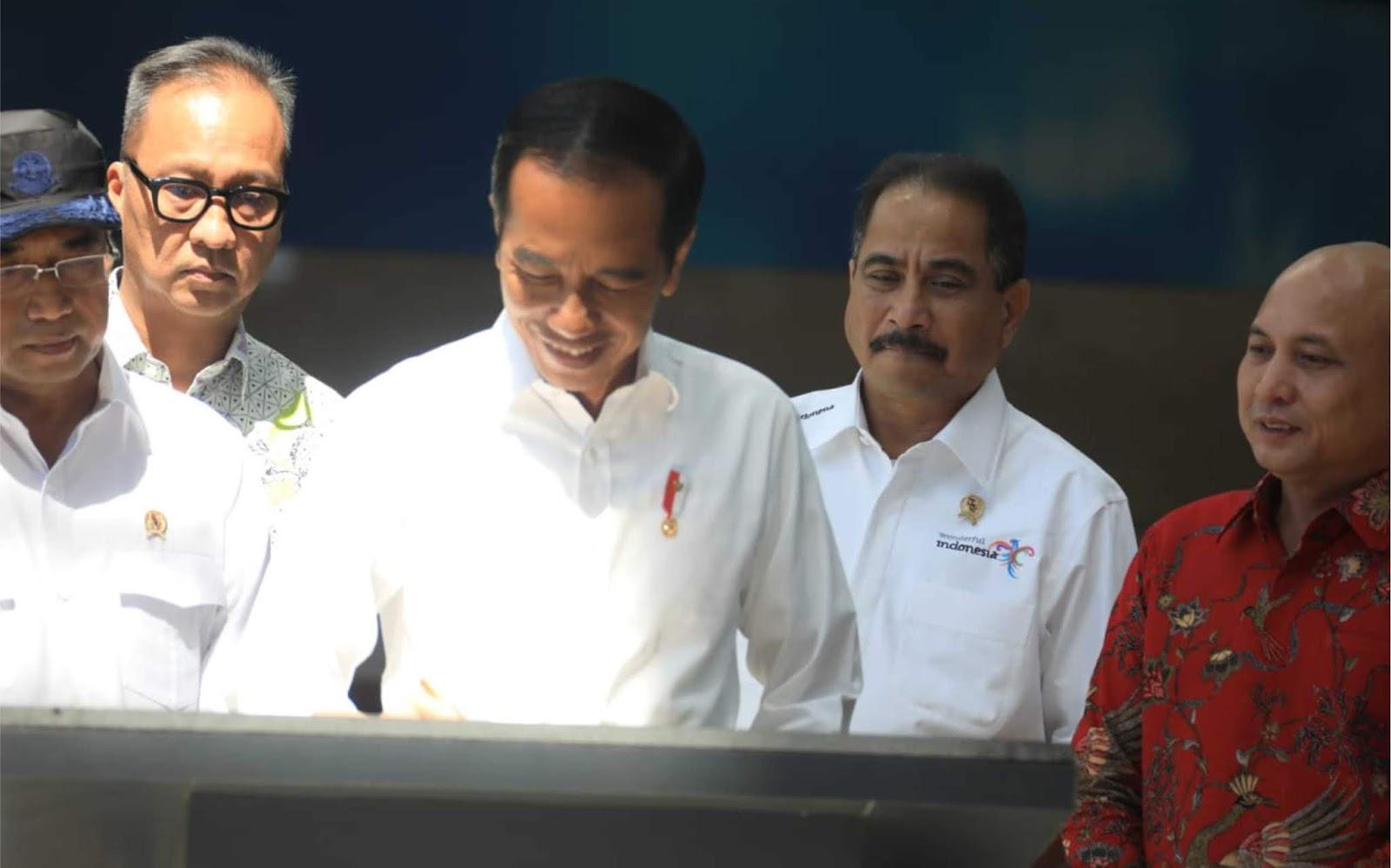 Presiden Jokowi Resmikan KEK Pariwisata Tanjung Kelayang, Siap Jadi Destinasi Kelas Dunia