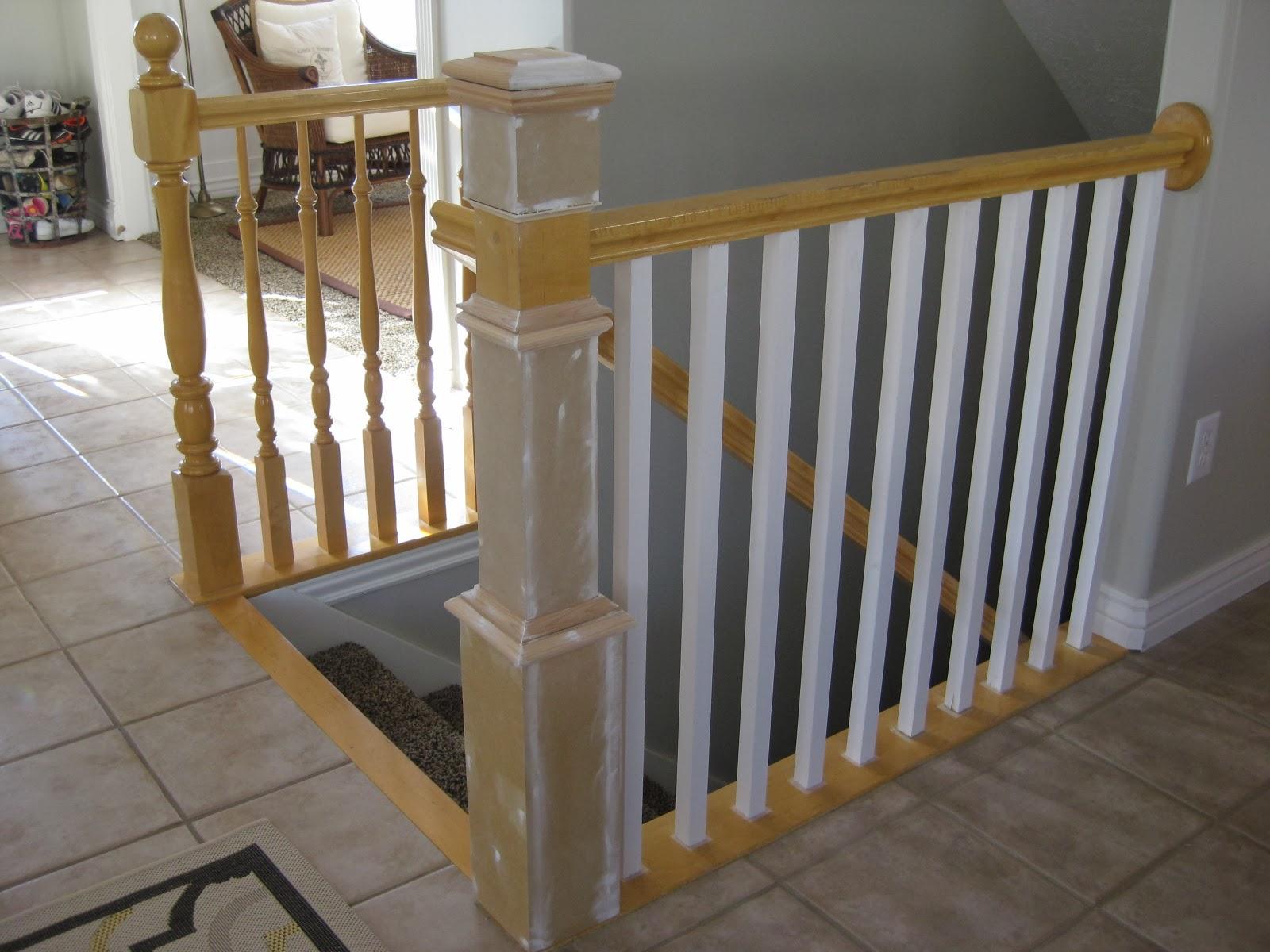 TDA decorating and design: DIY Stair Banister Tutorial ...