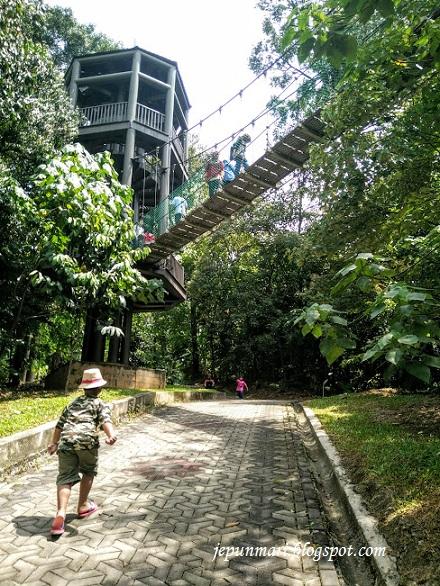 Mendaki di Taman ECO Rimba, KL