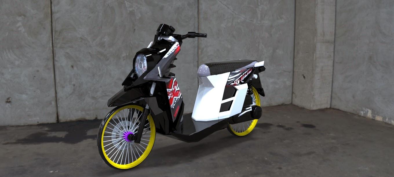 Gambar Modif Motor Yamaha X Ride