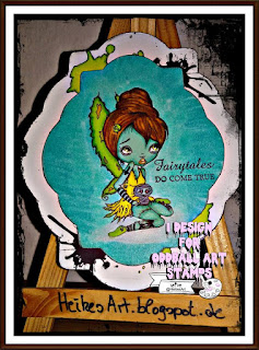 oddballart digi stamp fairy creepy cute digi stamp