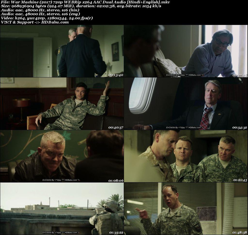 War Machine Full Movie Download