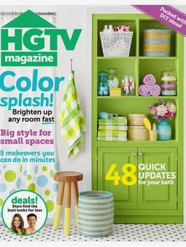 ANNECHOVIE IN HGTV MAGAZINE