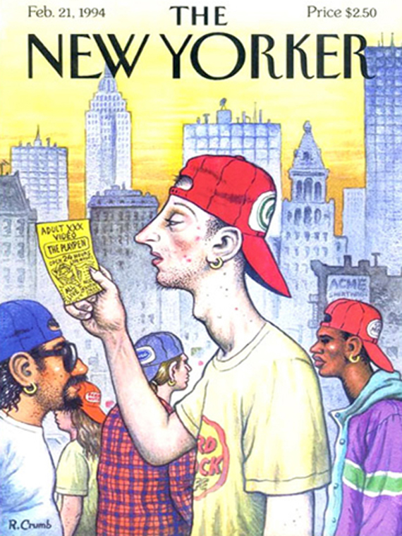 The New Yorker febr.1994 cover