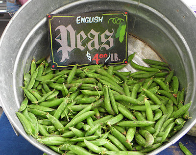 Barrel of English Peas