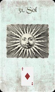 carta de lenormand 31 sol