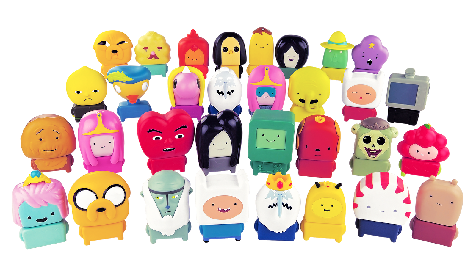 Cartoon Network Toys : Yolantele adventure time toys are out mcdonalds