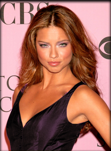 Women And Men Hairstyles Adriana Lima Hairstyles
