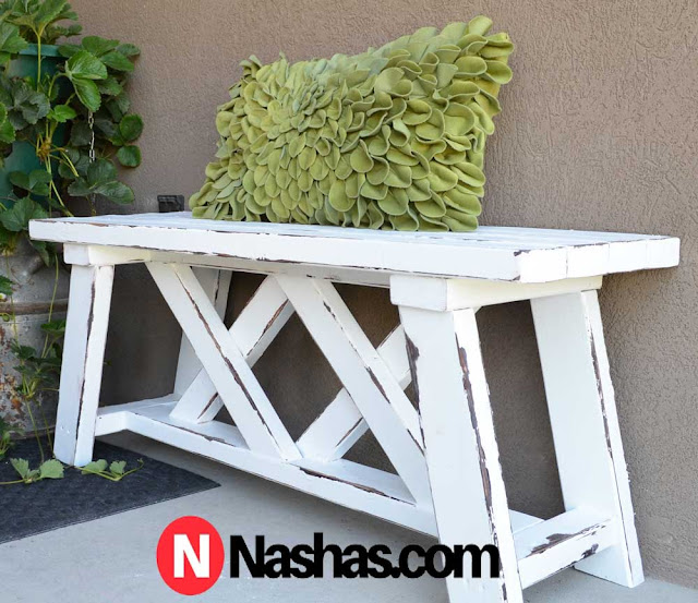 How To Make An Easy Wooden Outdoor Bench For Your Garden Free