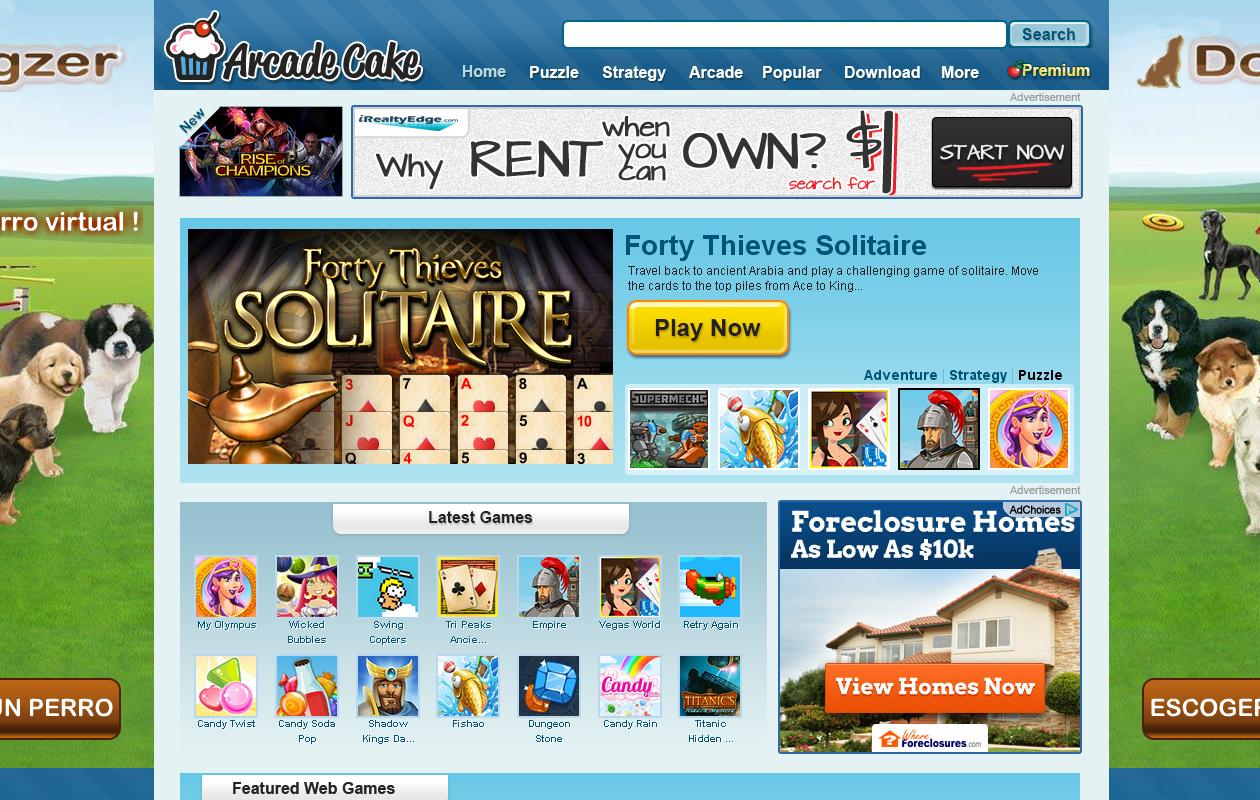 Eliminar anuncios ArcadeCake Secuestrador de navegadores