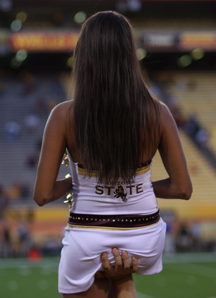 Consider, that Asu cheerleaders the dirty never impossible