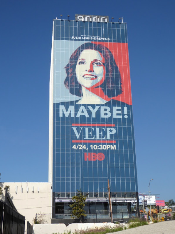 Giant Veep season 5 Maybe billboard