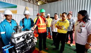 Archi Indonesia Rekrut Puluhan Naker Lingkar Tambang dan Dilatih Menjadi Tenaga Mekanik