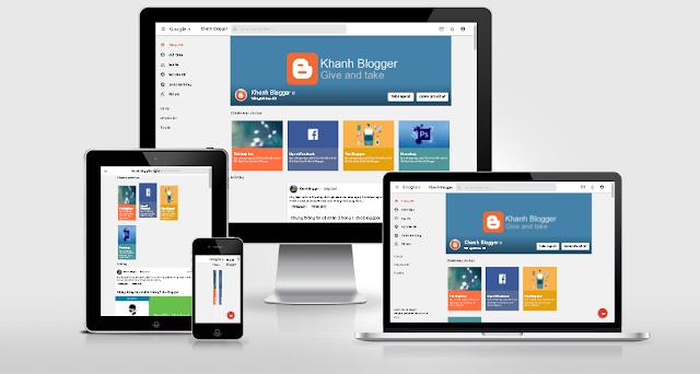 Google Plus Template Blogger phiên bản nâng cấp tối ưu nhất