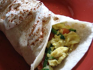Jalapeño Breakfast Burritos