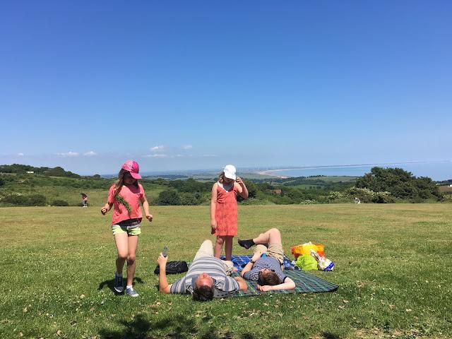 clifftop picnic