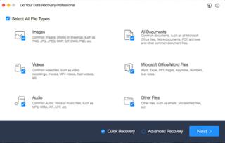 تنزيل  أفضل برنامج لاستعادة البيانات المفقودة أو المحذوفة Do Your Data Recovery 6.8