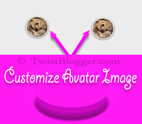 Customize comment avatar image in blogger