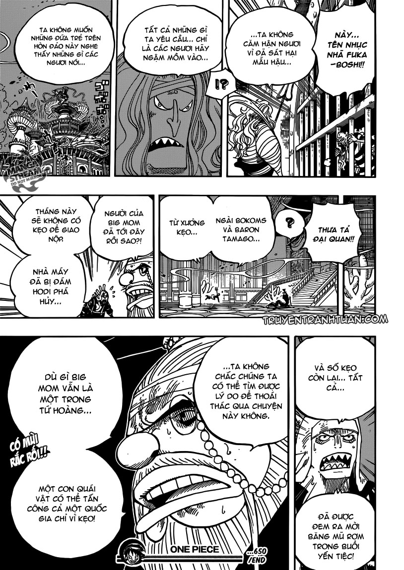 One Piece Chap 650