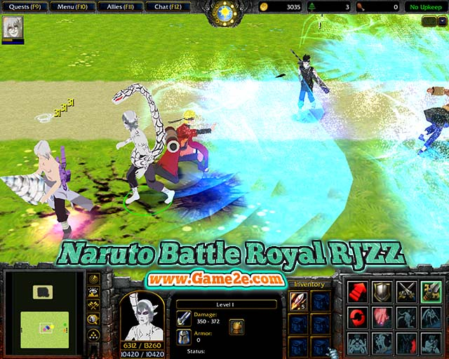 Map Naruto Battle