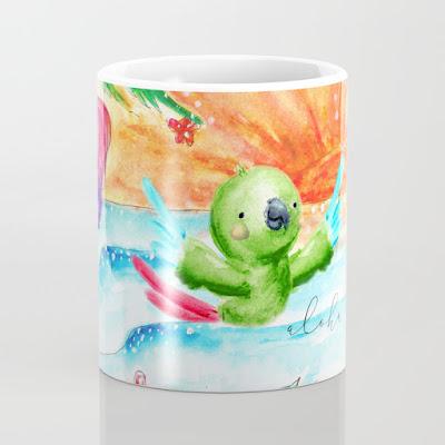 aloha rio coffee mug