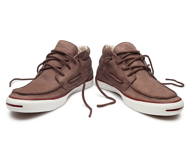 Converse Jack Purcell boat shoes