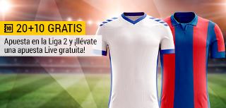 bwin promocion 10 euros Tenerife vs Levante 20 mayo