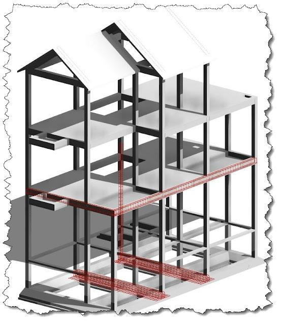 Các bước bóc tách khối lượng công trình