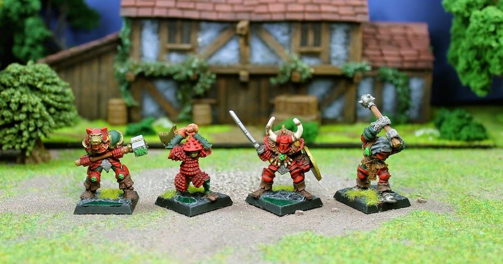 Khorne warriors