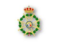 Representación del Real Cuerpo de la Nobleza de Madrid en el acto de la Real y Militar Orden de San Fernando