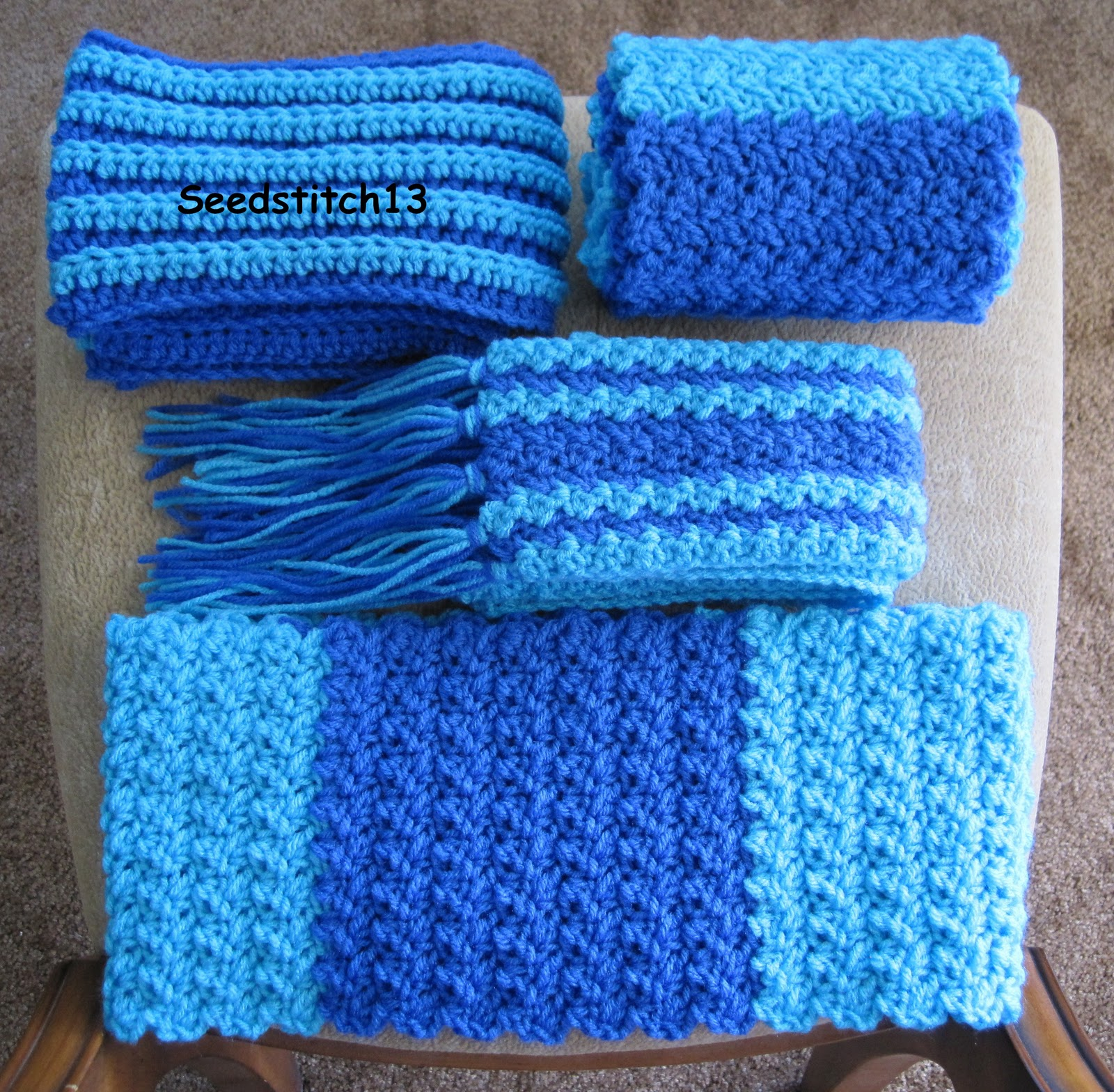 Seedstitch13: Special Olympics Scarves