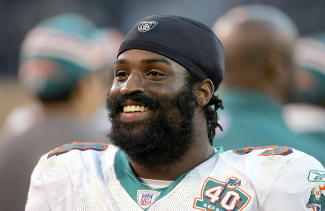 NFL player Ricky Williams