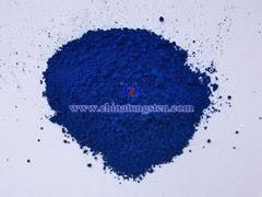 blue tungsten oxide photo