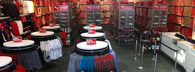 Lojas de esporte no outlet Premium North em Las Vegas