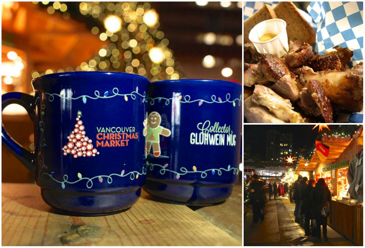 Vancouver Christmas Market Mug.Vancouver Christmas Market 2015 Food Drinks The Happy