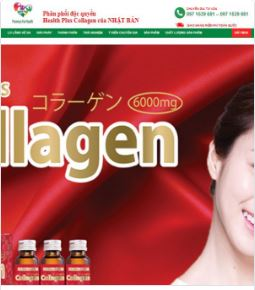 Landingpage Health Plus Collagen