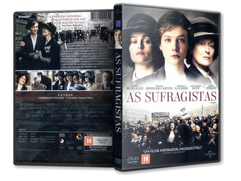 Capa DVD As Sufragistas (Oficial)