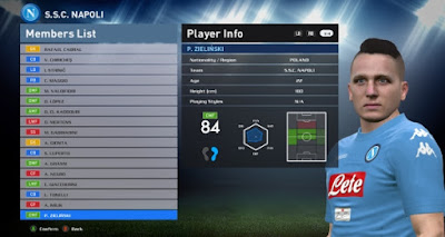 PES 2016 Unofficial Update untuk PTE Patch