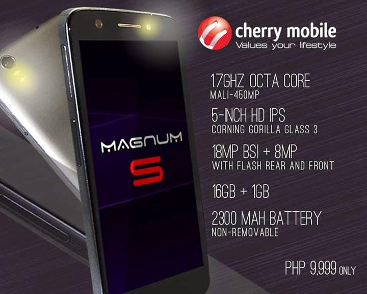Cherry Mobile Magnum S Specs, Price and Availability